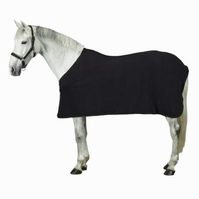Chemise d'écurie équitation POLAR 200 noir - poney et cheval