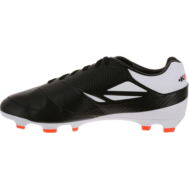 Skill 500 FG Junior Rugby Boots - Black/White