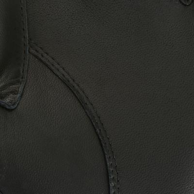 Pro'Leather Adult Horse Riding Gloves - Black