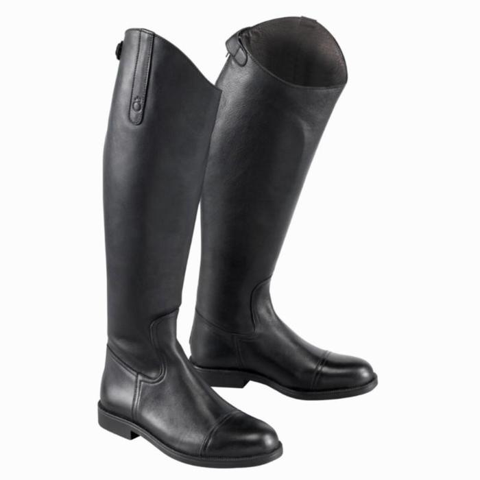 Bottes en cuir équitation adulte RIDING - 917146