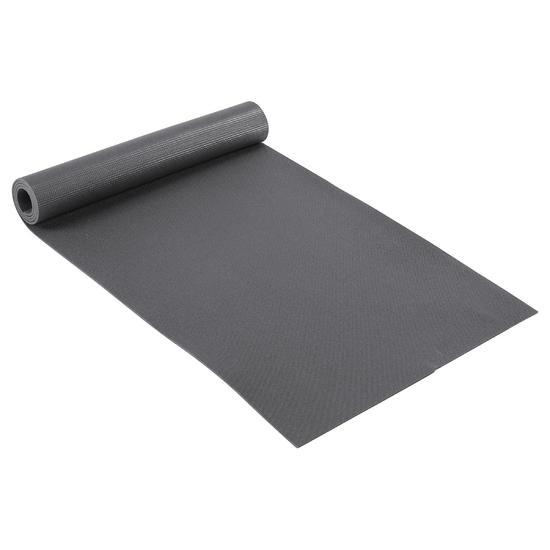 Yogamat Essential 5 mm donkergrijs - 91716
