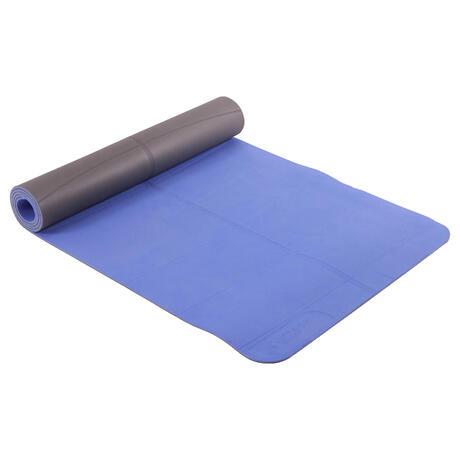 6920e2542fab Коврик для мягкой йоги из ТПЭ 5 мм синий   Domyos by Decathlon