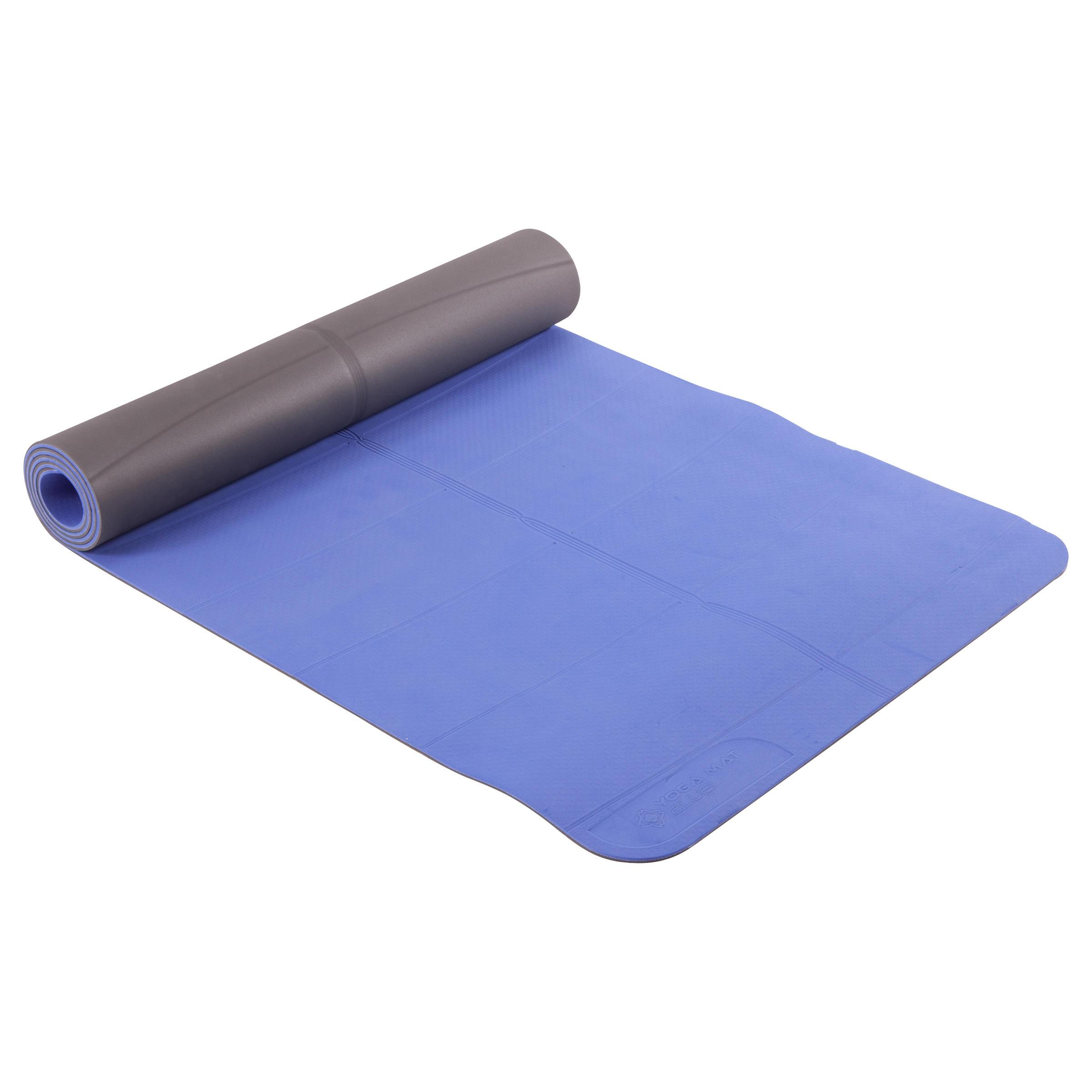 Yogamatte weich TPE 5 mm blau   03608419442441