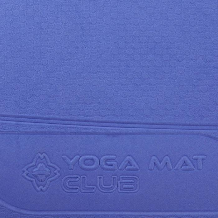 Yogamatte weich TPE 5mm blau