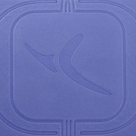 Tpe Gentle Yoga Mat 5mm Blue Domyos By Decathlon