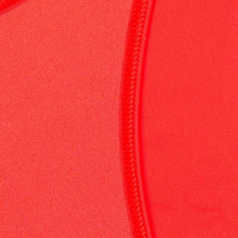 Maillot de bain femme culotte nouée Nahia orange personnalisable
