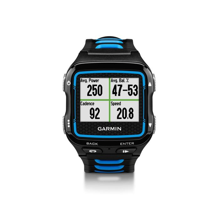 Montre GPS  avec ceinture cardio multisports Forerunner 920XT bleu/noir - 918346