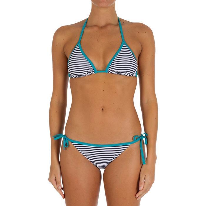 Haut de maillot de bain femme triangle coulissant avec coques MAE - 918676