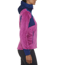 Fleece Forclaz 500 dames trekking - 91885