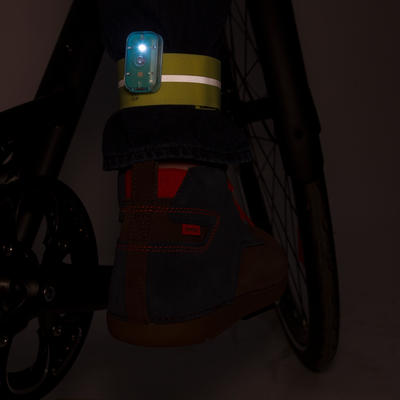 500 Rip-Tab Cycling Trouser Clip - Yellow