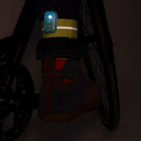 Pinces à pantalon de vélo à fermeture autoagrippante 500