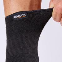 Men's/Women's Left/Right Compression Wrist Support Soft 100 - Black
