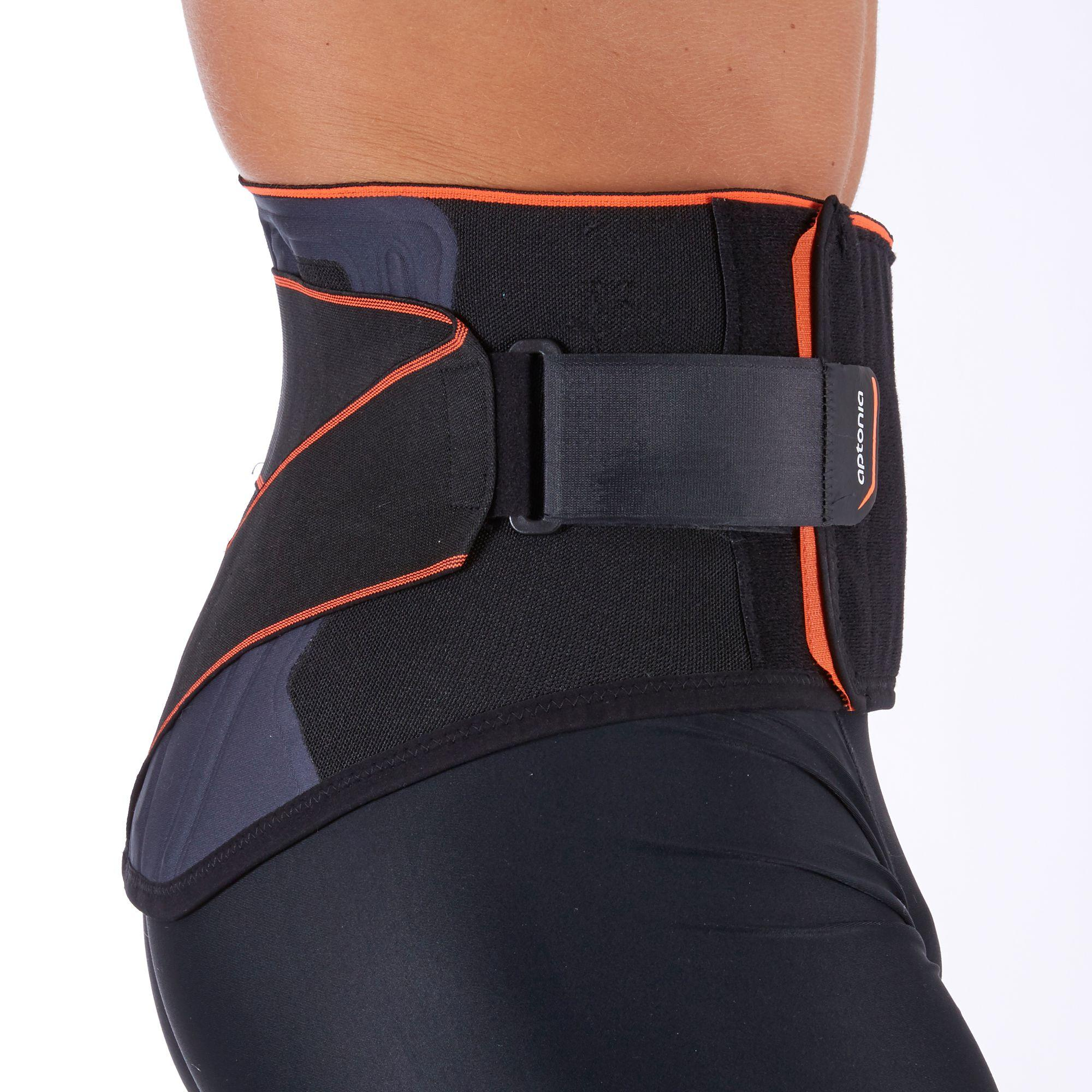 Mid 500 Men's/Women's Lumbar Brace - Black