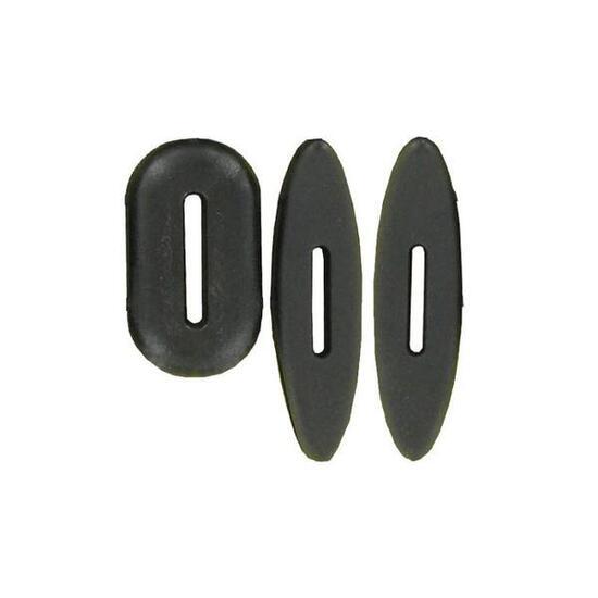 Martingaalstop en trensstoppers ruitersport zwart - 920678