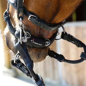 Protège-gourmette équitation cheval en néoprène noir - 920747