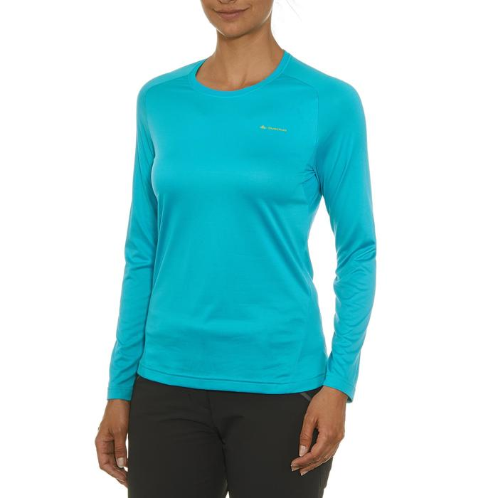 Tee-Shirt manches longues randonnée Techfresh 50 femme - 92101