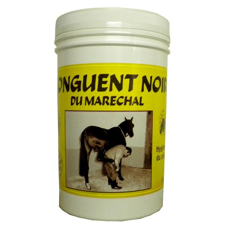 Du Marechal Ointment Horse Riding Hoof Grease for Horse and Pony 1 L - Black