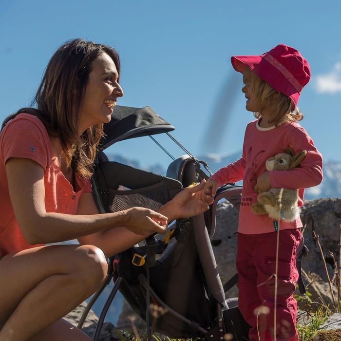 Pantalon de randonnée enfant Hike 500 marron clair - 921049
