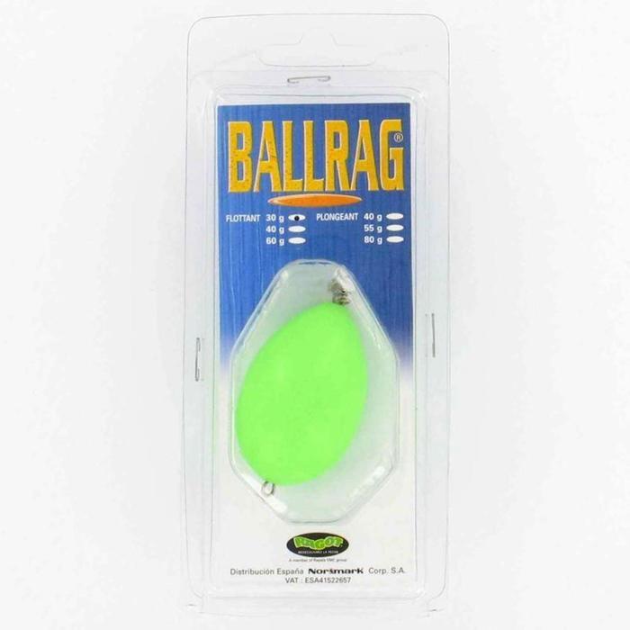 Ballrag phosphorescent 60gr pêche en mer