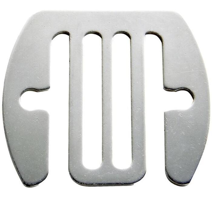 Conectores conductores para vallas de equitación, cintas de hasta 40 mm x 5
