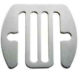 Geleidende verbindingsstukken rvs voor schriklint tot 40 mm - 5 stuks