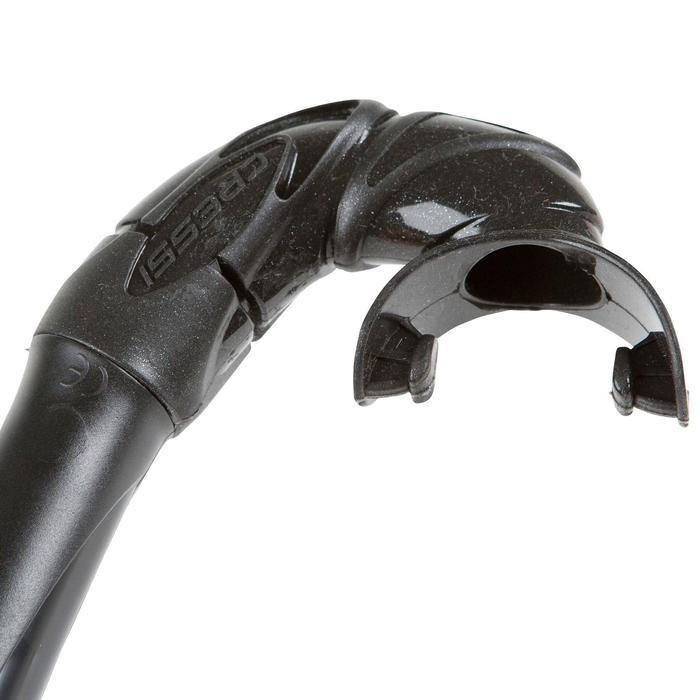 Tuba de chasse et d'apnée CORSICA noir - 921706