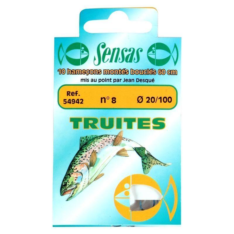 Sensas Onderlijn voor forelvissen met dobber Sensas Special forel