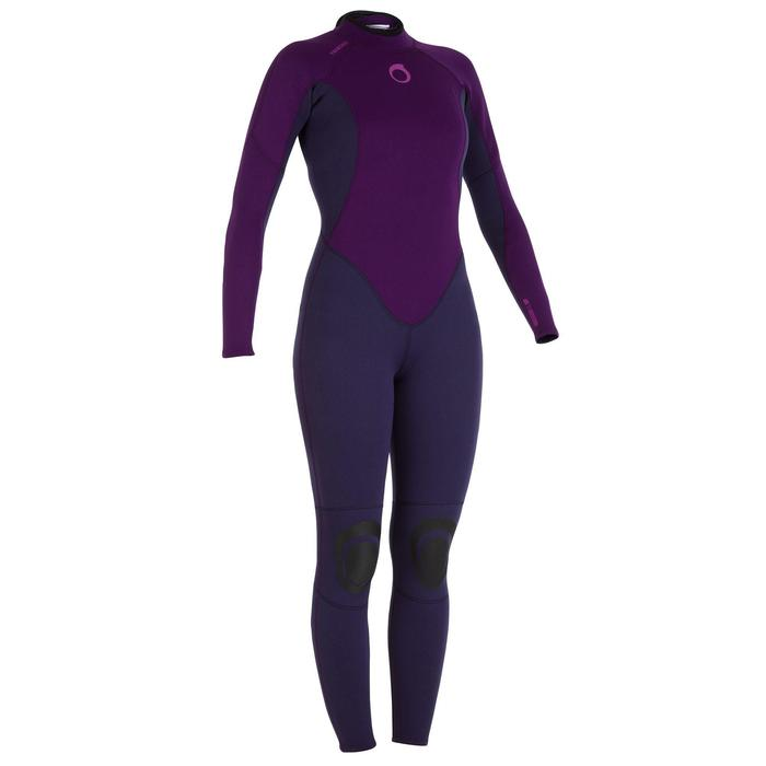 Combinaison SURF 100 Néoprène 2/2 mm Femme Violet - 922170