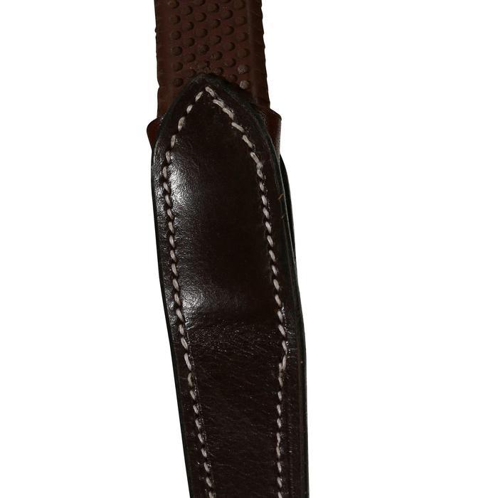 Filet + rênes équitation cheval et poney TINCKLE marron - 922545