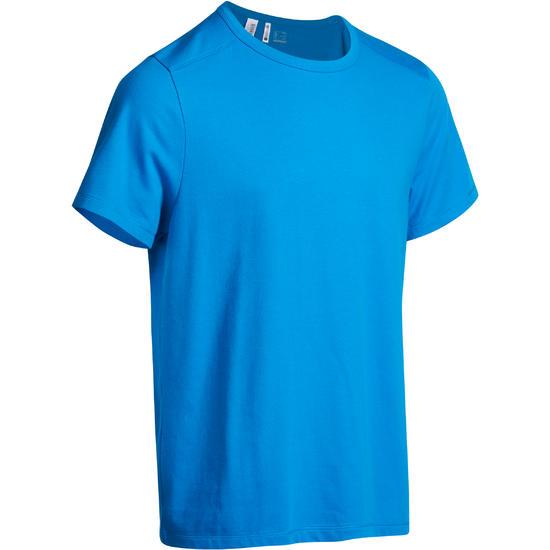 Heren T-shirt voor gym en pilates, regular fit - 922932