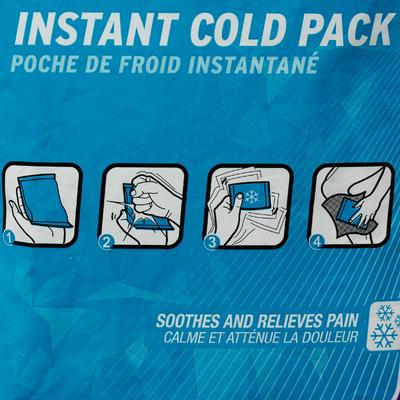 Calor/Frío Bolsa de frío instantáneo