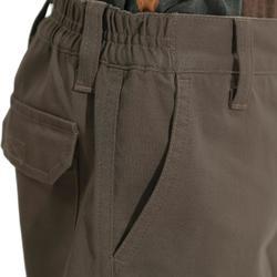 Pantalon Caza Solognac Sg100 Niños Verde