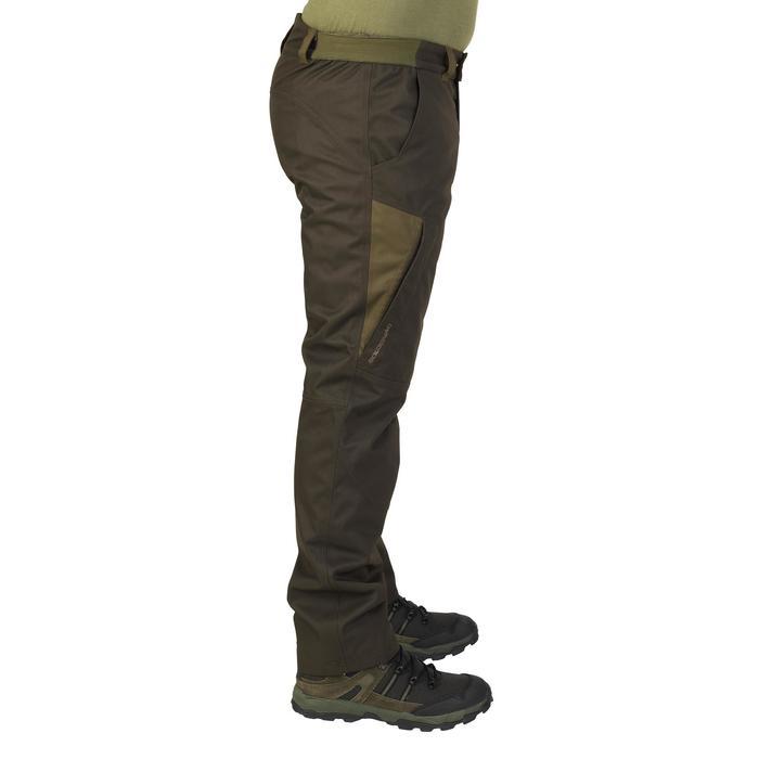 Pantalon chasse imperméable chaud 500 - 923788