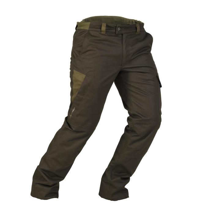 Pantalon chasse imperméable chaud 500 - 923789