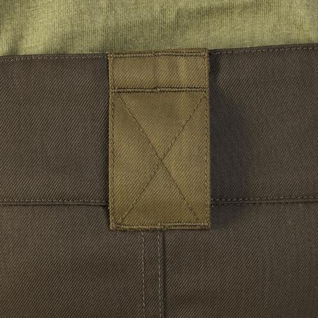 Impermeable Pantalon 500 Chasse Marron Solognac Chaud n06fFxwq