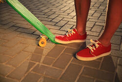 lage schoenen skateboarden/longboarden volwassenen Vulca Canvas L petroleum - 92407