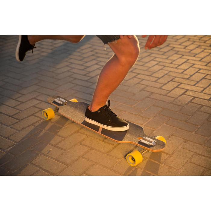 Chaussures basses skateboard - longboard VULCA CANVAS L noires