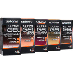 Energiegel Ultra Gel 500 zwarte bes 4x 32g - 924453