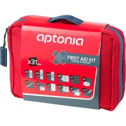 Botiquín Primeros Auxilios Kit 300 Rojo | 31 Elementos