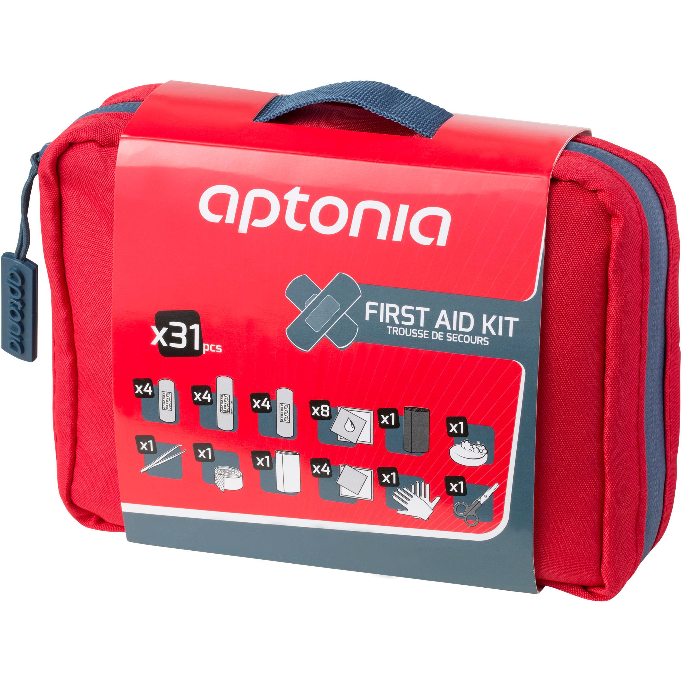 Forclaz EHBO kit 300 rood