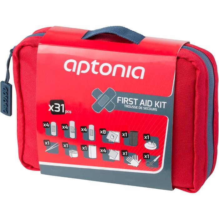 Kit 1er Secours 300 rouge - 924459