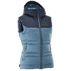 célèbre marque de designer personnalisé vente pas cher Gilet (doudoune sans manche) randonnée femme Arpenaz 600 bleu