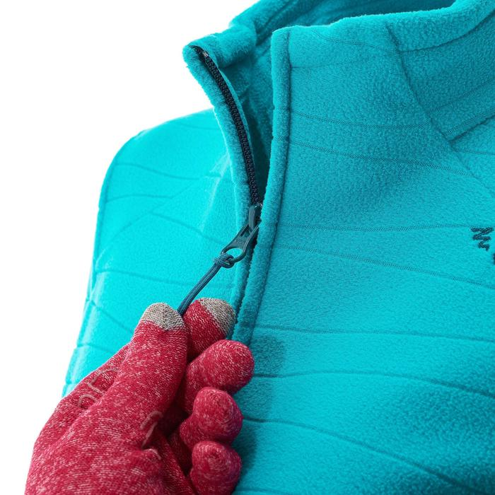 Polaire de randonnée montagne femme Forclaz 200 chiné - 924706