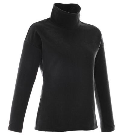 Women's Mountain Walking Fleece MH20 - Black