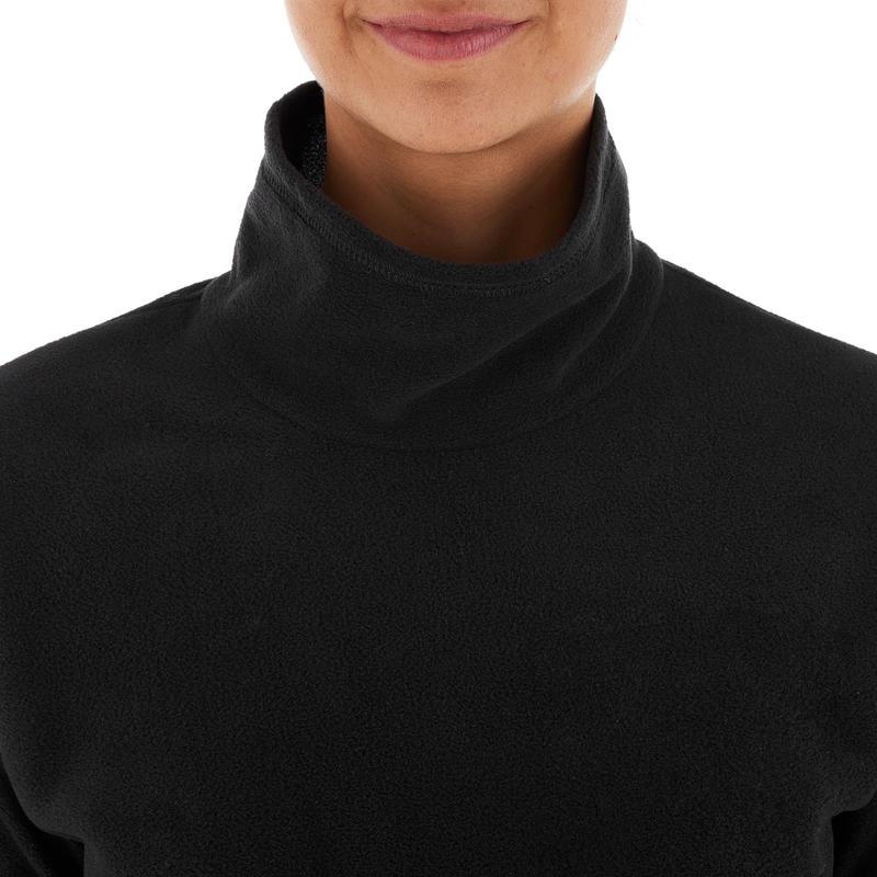 Polaire randonnée femme Forclaz 20 noir