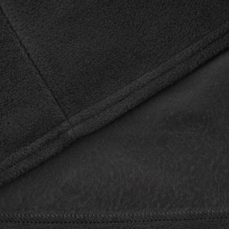 เสื้อผ้าฟลีซผู้หญิงสำหรับใส่เดินป่าบนภูเขารุ่น MH20 (สีดำ)