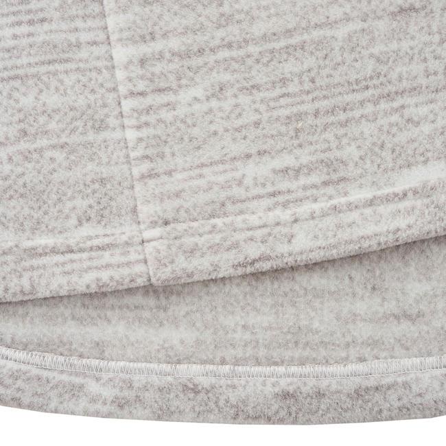Women's Fleece Forclaz 50 - Mottled White Print