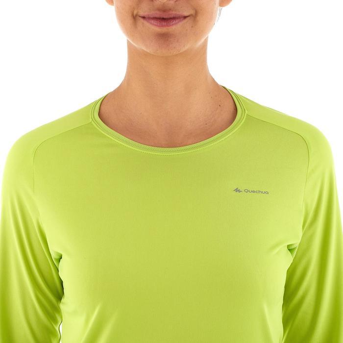 Tee-Shirt manches longues randonnée Techfresh 50 femme - 924887