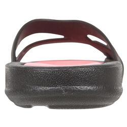 Damesslippers Athena Hook zwart/roze - 92520