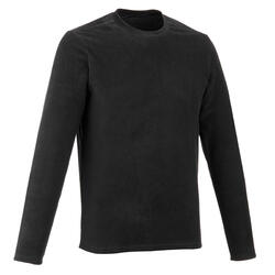 MH20 Men's Mountain Hiking Fleece Sweater - Black